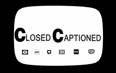 various closed captions logo