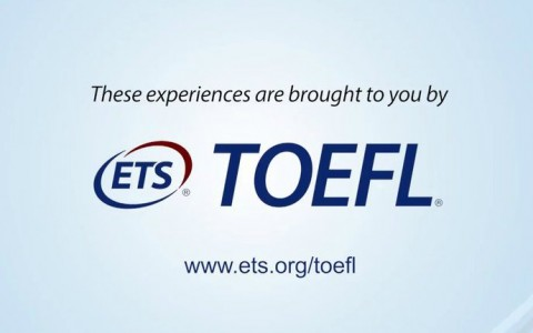 toefl logo and screencapture